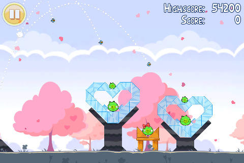 Angry Birds - Вышла Angry Birds Valentine Edition