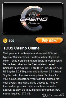 Test drive unlimited 2 casino online pg county casino decision
