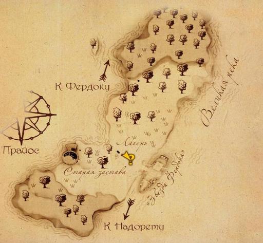Drakensang: The River Of Time - Drakensang: Река Времени. Прохождение - Обучение и Беззаконие на заставе.