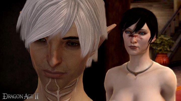 dragon age 2 моды на прически