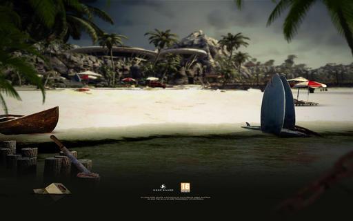 Dead island background.