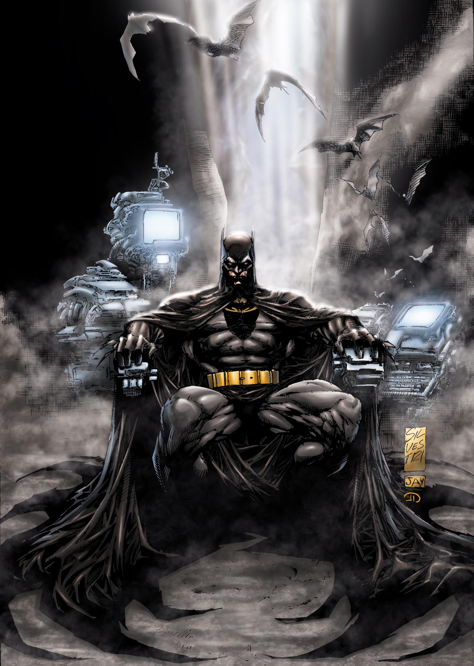 Комиксы: Когда над Бэтменом...