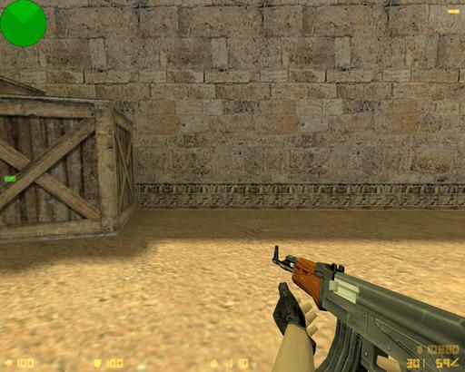Half-Life: Counter-Strike - Исследуем карту de_dust2