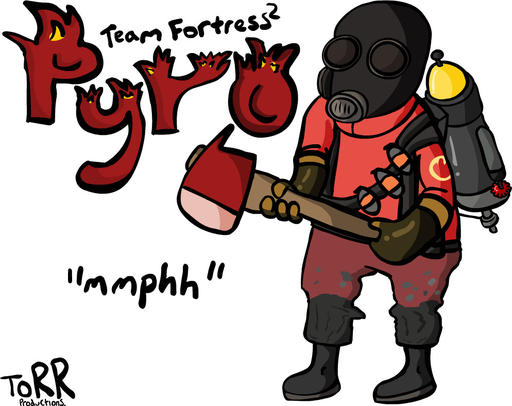 Team Fortress 2 - Everybody loves teh Pyro.