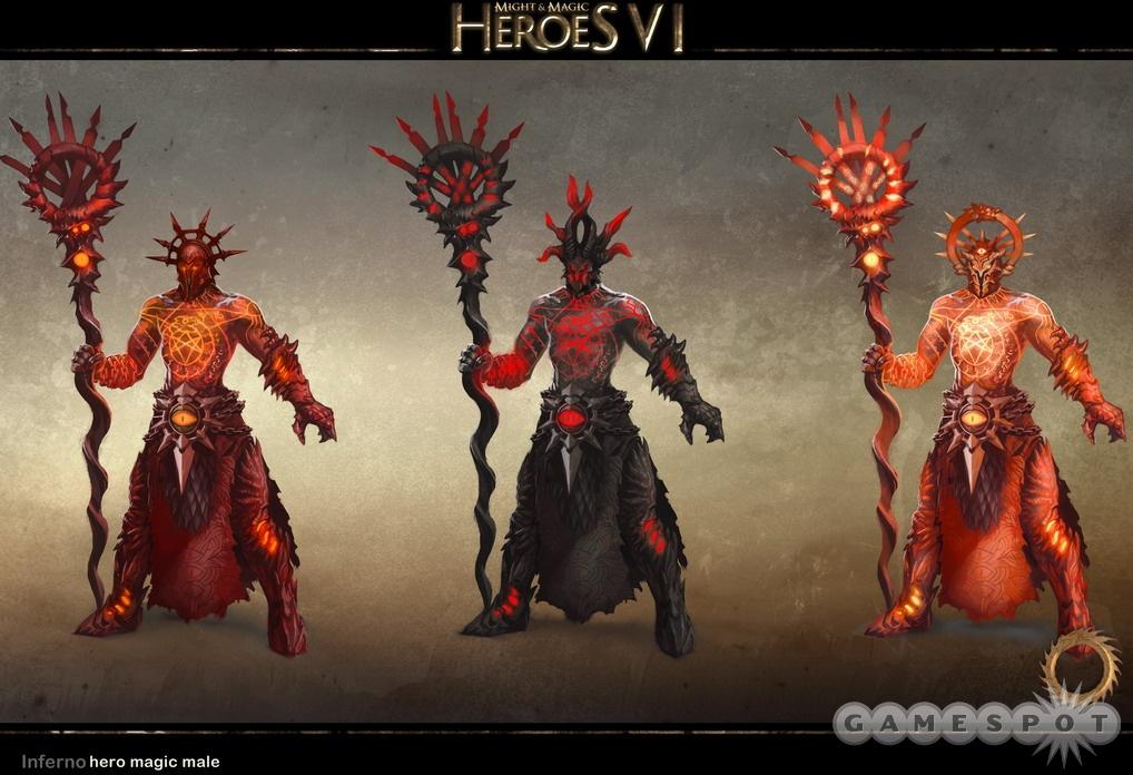 герои меча и магии 6 расы