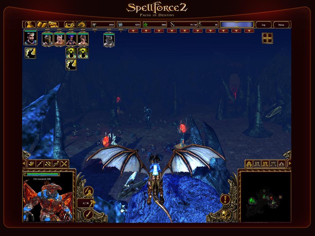 Обои для игры spellforce: the shadow of the phoenix