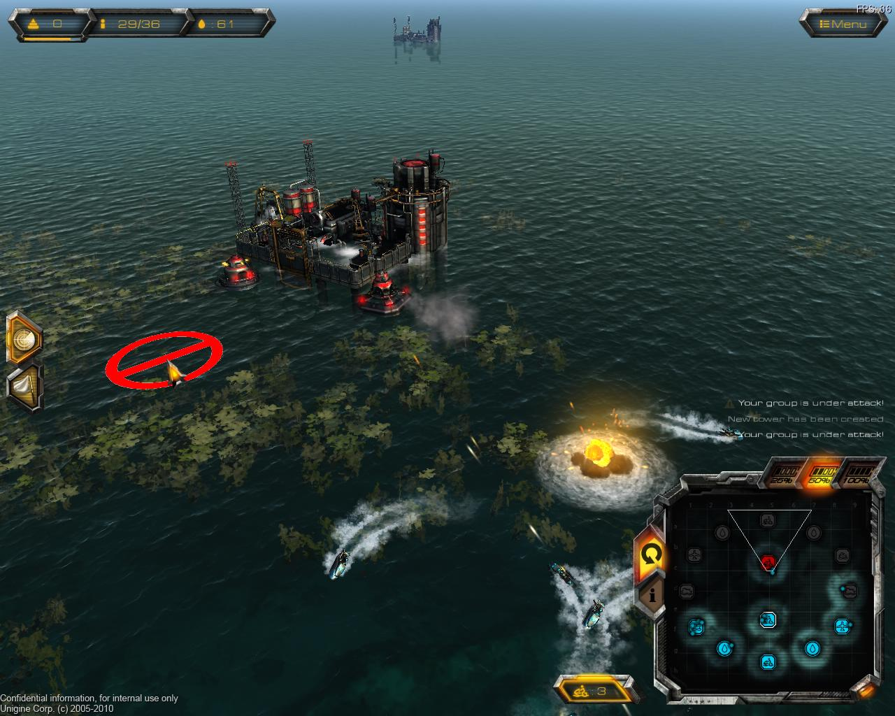 ตัวอย่างเกมส์ Oil Rush