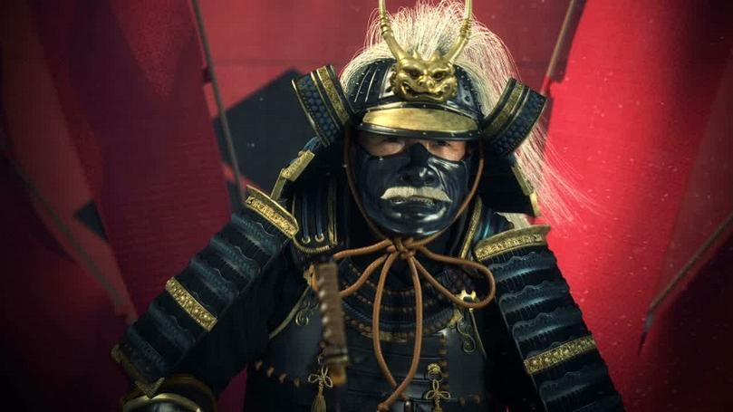 Картинки самурай на телефон