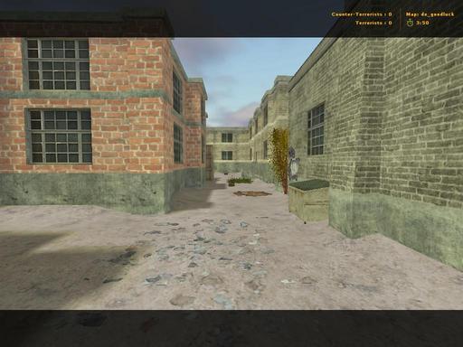 Half-Life: Counter-Strike - Авторская карта de_goodluck