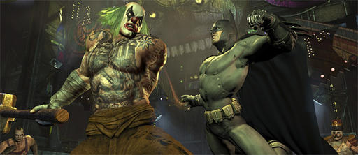 Batman: Arkham City - О мультиплеере Batman: Arkham City