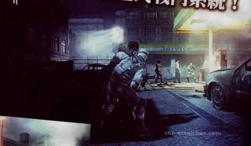 Resident Evil: Operation Raccoon City - Новые сканы Resident Evil: Operation Raccoon City