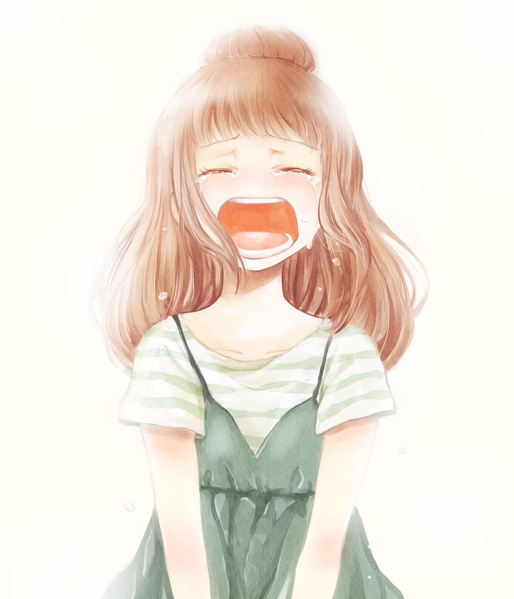Anime Kid Crying Anime Crying Smiley Portal 2