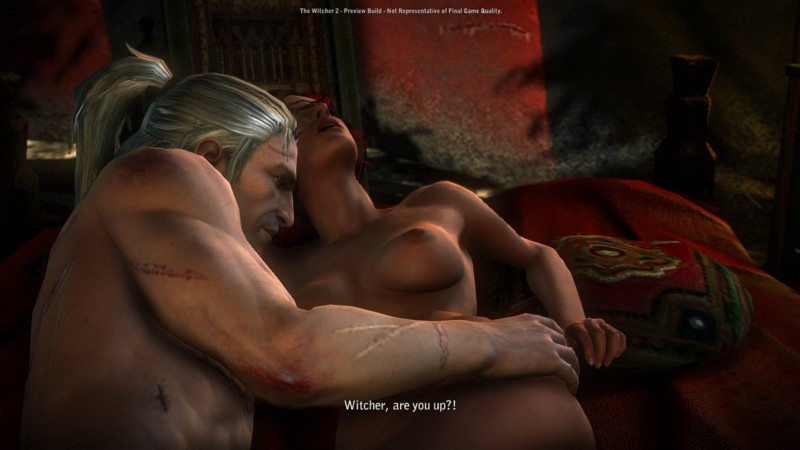 Ведьмак 2 видео секс с бьянкой