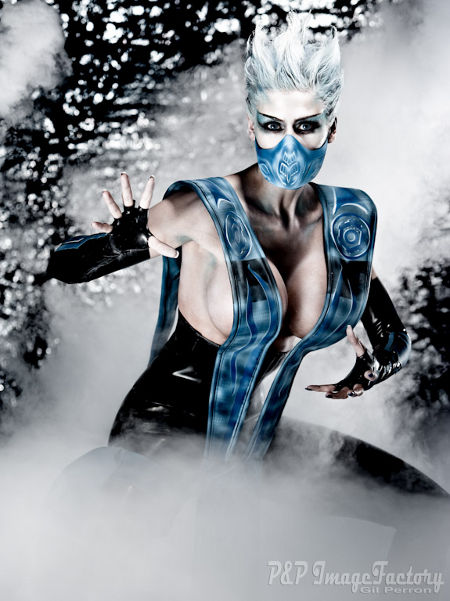 MCB as Frost from Mortal Kombat by Gil P.