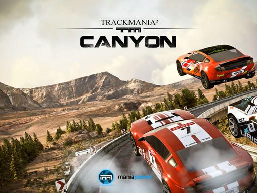 TrackMania 2 - TrackMania² Canyon официальный анонс (дебютный трейлер)