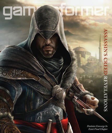 Assassins Creed – Revelations на обложке Game Informer
