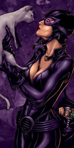 Картинки женщина кошка и бэтмен