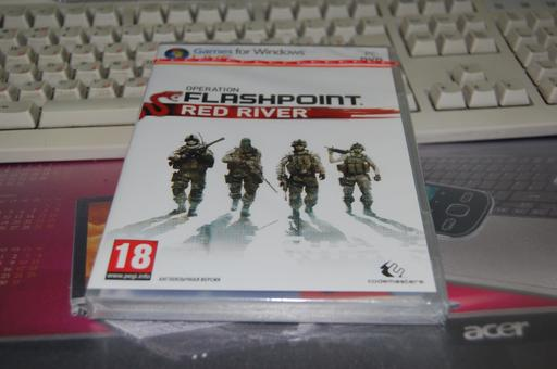 Распаковка Operation Flashpoint: Red River. Эксклюзивно для GAMER.ru