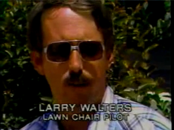 Action Hero Profile Larry  Lawn Chair Larry  Walters  sc 1 st  BORN TO FLY Elizabeth Streb vs. Gravity & Action Hero Profile: Larry
