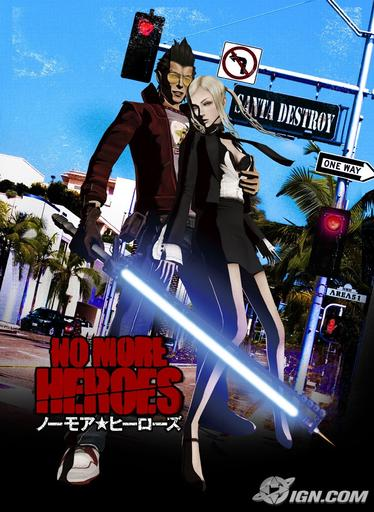 No More Heroes - Картинки