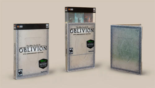 Elder Scrolls IV: Oblivion, The - 5th Anniversary Edition