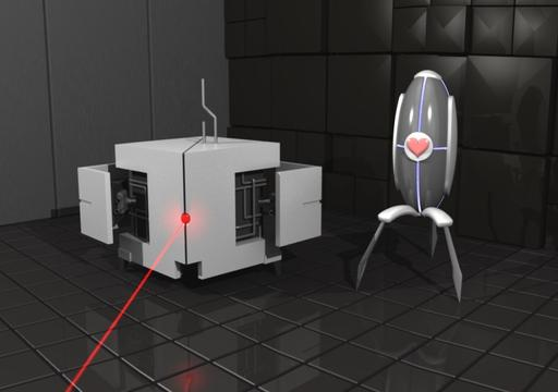 Portal 2 - Конкурс «Оружейная»: Aperture Science Sentry Turret. При поддержке GAMER.ru и PodariPodarok.ru