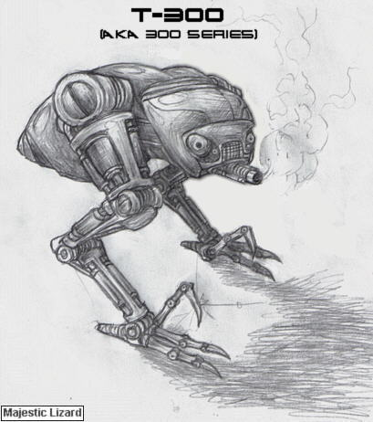 Эволюция Терминаторов - Т-300