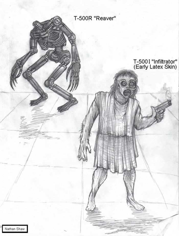 Эволюция Терминаторов - Т-500 — Терминатор: Да придет спаситель ...