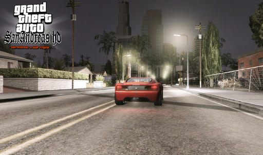 Grand Theft Auto IV - San Andreas HD