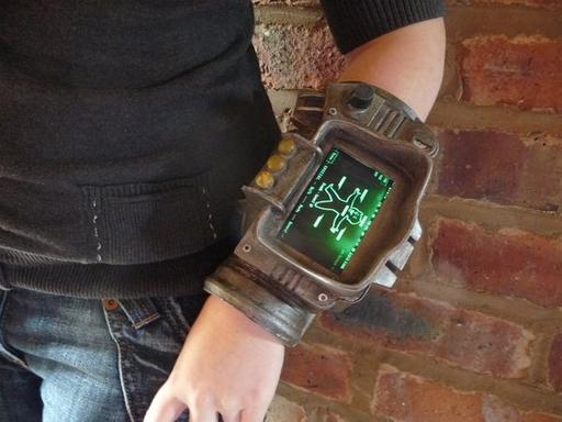 Fallout 3 - Самодельный компьютер Pip Boy 3000 из Fallout 3