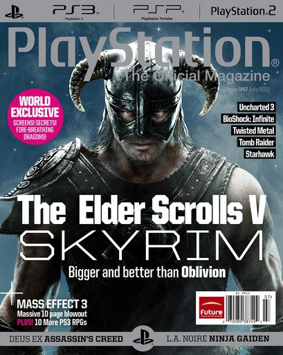 Elder Scrolls V: Skyrim, The - Новая информация из PlayStation The Official Magazine