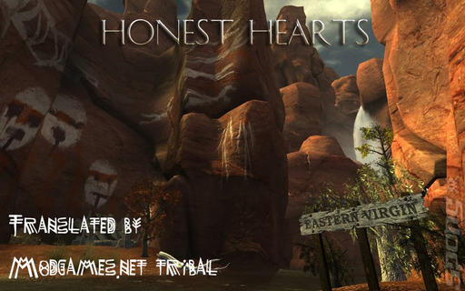 Fallout: New Vegas - Honest Hearts - русификатор от MG Tribal