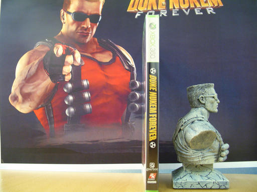 Duke Nukem Forever - Balls of Steel Edition: Распаковка
