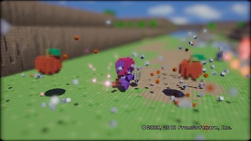 3D Dot Game Heroes - Обзор 3D Dot Game Heroes