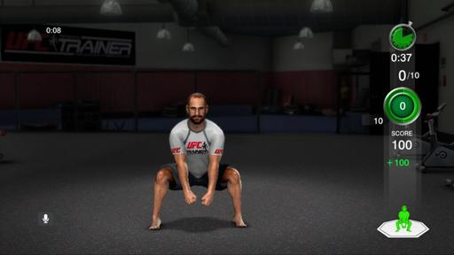 UFC Personal Trainer: The Ultimate Fitness System  - Скриншоты