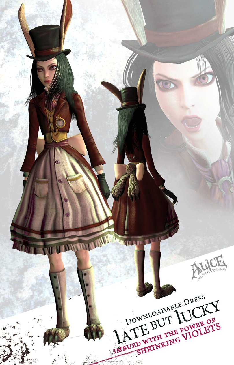Alice madness returns платье