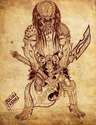 Aliens Versus Predator 2 - Арт Хищников Part 1