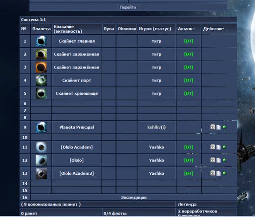Warplanet Online - офф картинки
