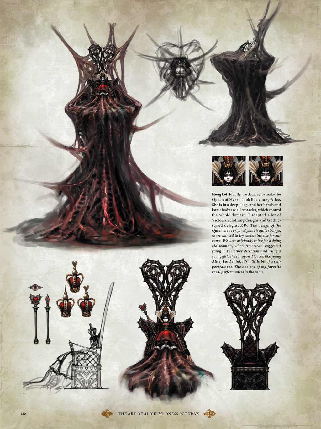 alice madness returns art book part 2