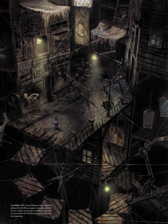 Alice madness returns art book part 2 for Www the house com returns