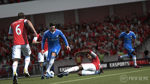 Программное ядро Player Impact Engine станет основой FIFA 12 для PC