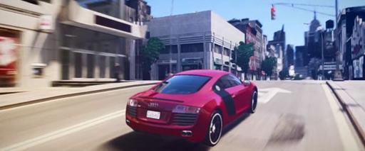 Grand Theft Auto IV - Невероятная графика или на что способен ПК
