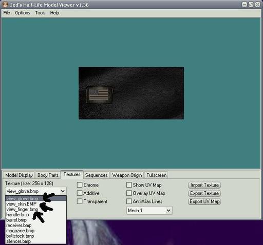 Half-Life: Counter-Strike - Меняем перчатки в CS 1.6