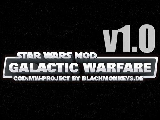 Call of Duty 4: Modern Warfare - Star Wars Mod: Galactic Warfare вышел!