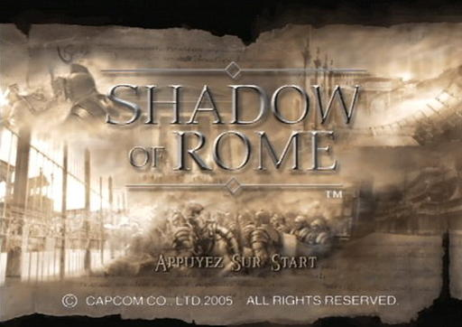 Shadow of Rome - Колизейские будни. Обзор Shadow of Rome
