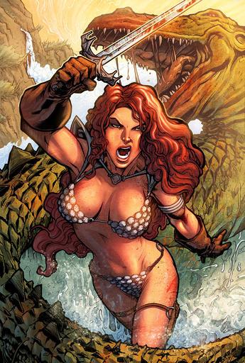 Age of Conan: Hyborian Adventures - Рыжая Соня. Краткая информация и большая подборка арта