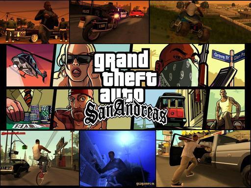 Grand Theft Auto IV - GTA IV: San Andreas на движке RAGE + видео