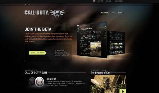 Call of Duty: Black Ops - Стартовал бета-тест Call of Duty: Elite