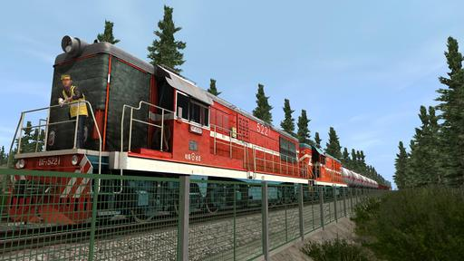 Trainz Simulator 12 - Герцогиня и Голубая комета
