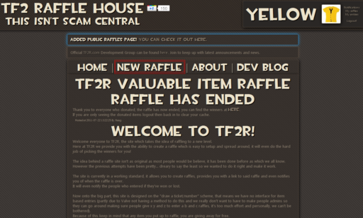 Team Fortress 2 - TF2 Raffle House(Лотерея)